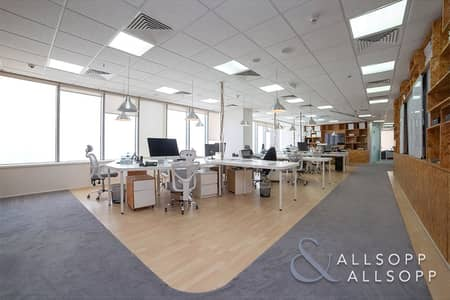 Office for Sale in Motor City, Dubai - Race Track View | Fully Fitted | Furnished