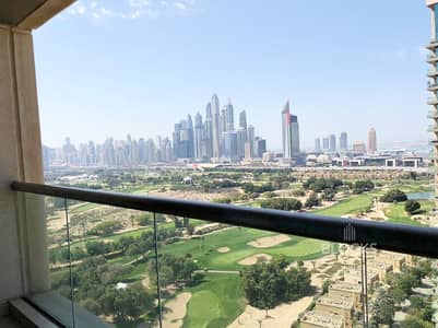 2 Bedroom Apartment for Rent in The Views, Dubai - Canal and Golf View on Higher Floor
