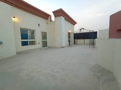 3 Bedroom Villa for Rent in Khalifa City A, Abu Dhabi - Beautiful VIP 3BHK with Huge Private Rooftop, Beautiful Kitchen and Bathrooms available in KCA