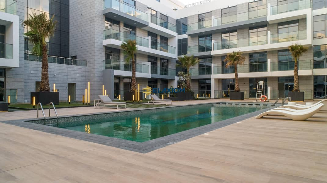 20 Pool View at the heart of Meydan Avenue A403  1BR 2BT
