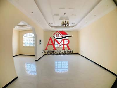 3 Bedroom Apartment for Rent in Asharej, Al Ain - Pleasant Private Entrance Apartment With Central Duct AC