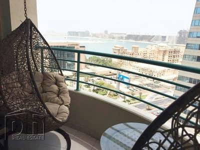 فلیٹ 1 غرفة نوم للايجار في دبي مارينا، دبي - High Floor | Furnished | Managed by PH