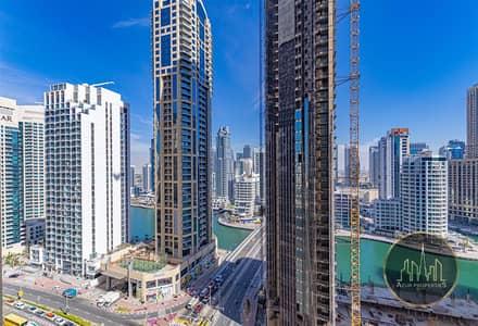 فلیٹ 3 غرف نوم للايجار في جميرا بيتش ريزيدنس، دبي - Spacious 4br+Maids with Marina View | Mid Floor