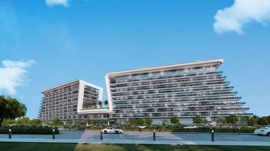 شقة 2 غرفة نوم للبيع في جزيرة ياس، أبوظبي - 2 BHK + Maid room for sale with a breathtaking view in YAS Beach Residence