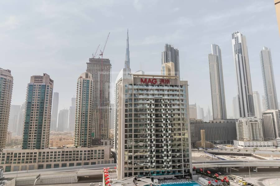 16 1 Month Free | Price Negotiable | Burj View | Business Bay