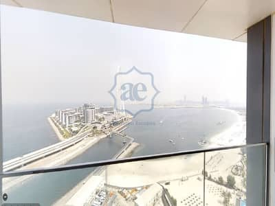 2 Bedroom Flat for Rent in Jumeirah Beach Residence (JBR), Dubai - Unique  / Sea View  / Private Beach / Brand New