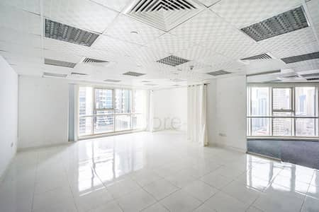 Office for Rent in Jumeirah Lake Towers (JLT), Dubai - Fitted Office |Low Floor | Close to Metro