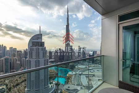 2 Bedroom Flat for Rent in Downtown Dubai, Dubai - Astonishing Fountain View | Elegantly Furnished