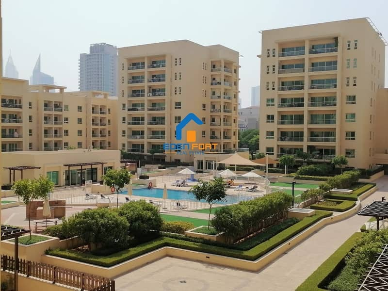 Nice & Beautiful 1 BHK | Garden Facing | Al Samar 1 | Greens