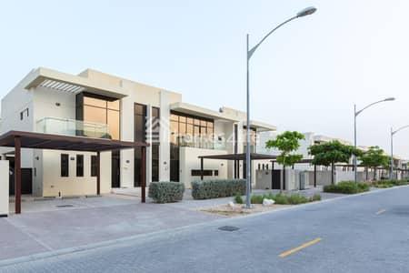 3 Bedroom Villa for Rent in DAMAC Hills (Akoya by DAMAC), Dubai - Full Corner single Row Unit Type THM 115k