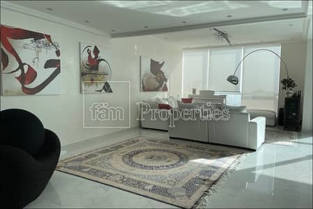 2 Bedroom Apartment for Rent in Jumeirah Beach Residence (JBR), Dubai - Bright | Luxuriously furnished | Full Sea View | Unique