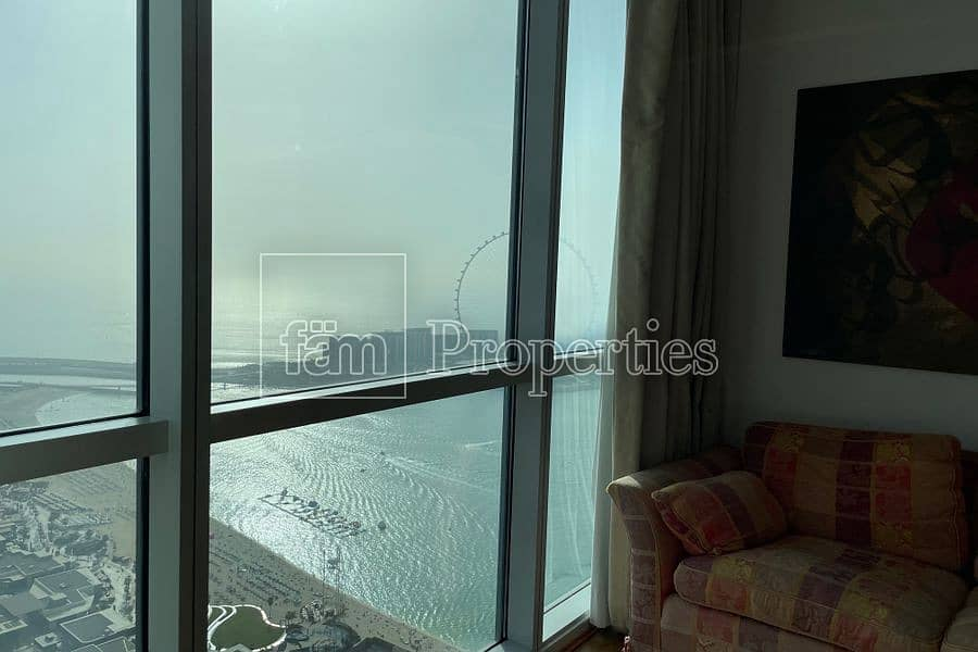 2 Bright | Luxuriously furnished | Full Sea View | Unique