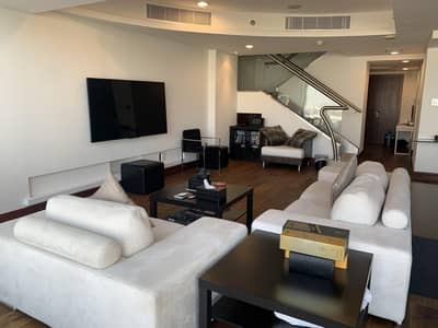 2 Bedroom Flat for Rent in World Trade Centre, Dubai - Stylish and Fully Upgraded Furnished Apartment for Rent in Jumeirah Living