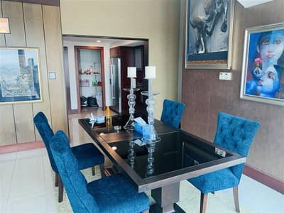 3 Bedroom Apartment for Rent in World Trade Centre, Dubai - luxury Furnished 3br Apartment for Rent in Jumeirah living