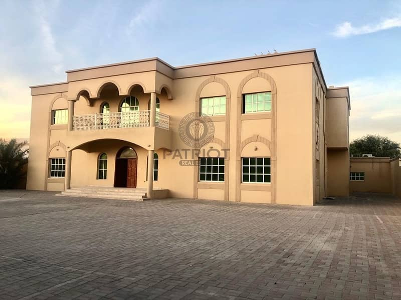 An Extremely Impressive 10-BR  Villa In Al Barsha