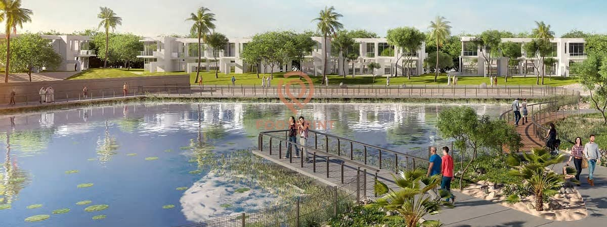 11 Backyard Of Mansion | Limited Edition | 4bed @ Damac Hills Next to Trump Golf