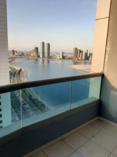 1 Bedroom Apartment for Rent in Al Khan, Sharjah - Sea View One Bedroom Hall Flat  for Rent