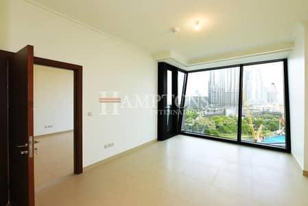 شقة 2 غرفة نوم للايجار في وسط مدينة دبي، دبي - 2BR Full Burj Khalifa View Burj Vista 2