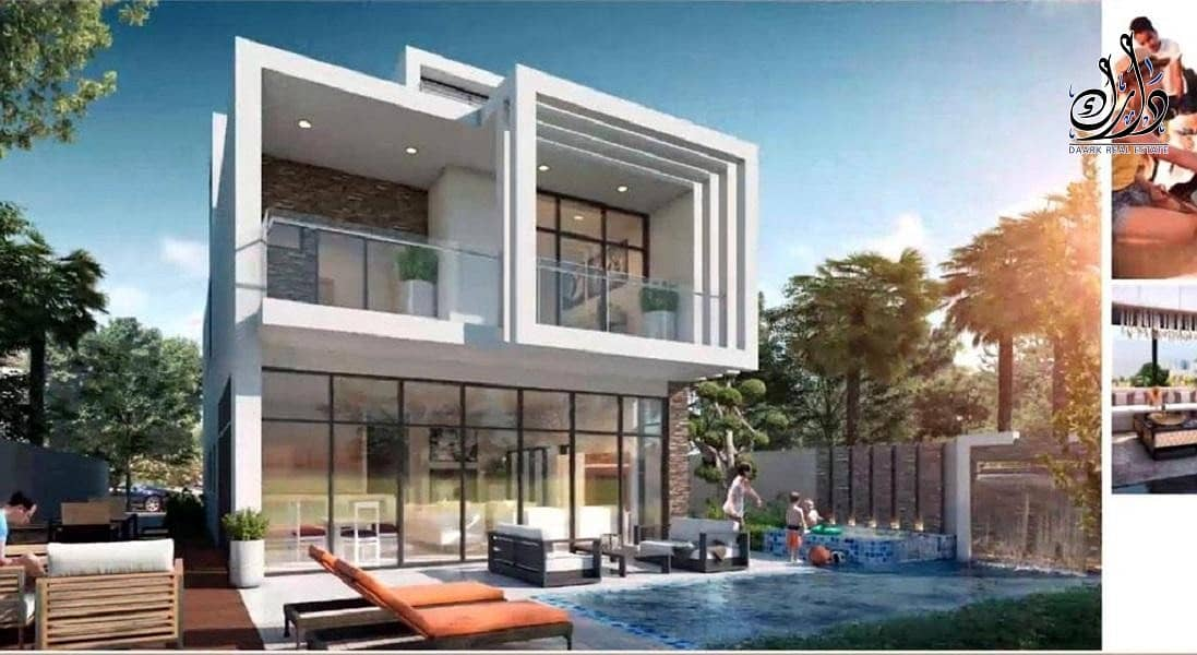 hot deal luxury villa  4 BR+ maid | 4 years payment plan | best community