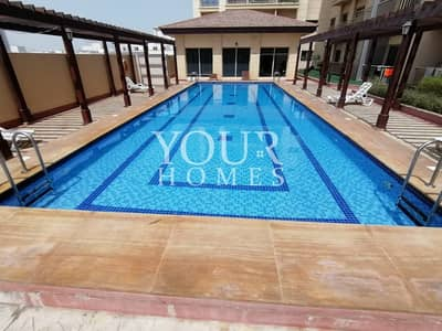 1 Bedroom Flat for Rent in Jumeirah Village Circle (JVC), Dubai - HM | Bright & Spacious 1BHK for Rent