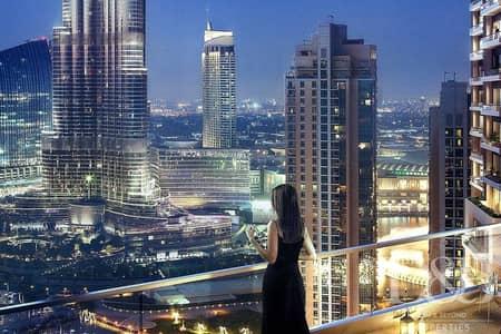 شقة 2 غرفة نوم للبيع في وسط مدينة دبي، دبي - Genuine Resale   Fountain View   High Floor