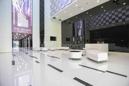 Office for Sale in Business Bay, Dubai - Rented   Fitted Office   The Binary Tower