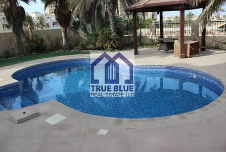 4 Bedroom Villa for Rent in Al Hamra Village, Ras Al Khaimah - BEST  4 BEDROOM CORNER VILLA WITH  POOL &  GARDEN