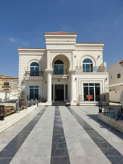 6 Bedroom Villa for Sale in Al Noaf, Sharjah - New villa For sale in Al-Nouf 4 - on a Main street - Luxurious finishes