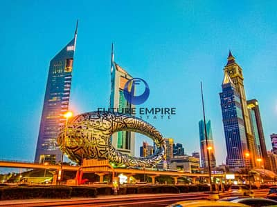 1 Bedroom Apartment for Rent in Sheikh Zayed Road, Dubai - Lavish 1BHK+Maid's Room   Chiller +Parking Free   SZR
