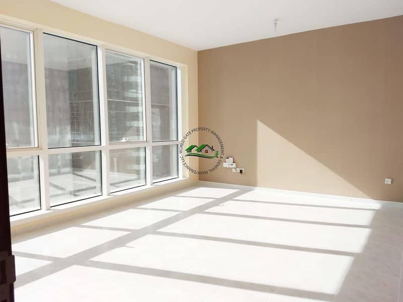 Spacious well maintained 1 BR apartment on Hamdan Street