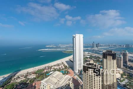 فلیٹ 2 غرفة نوم للبيع في جميرا بيتش ريزيدنس، دبي - Sea Views   Vacant 2BR Loft   High Floor