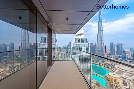 3 Bedroom Apartment for Sale in Downtown Dubai, Dubai - Vacant | High Floor | Brand-New | 3 bed + Maid's