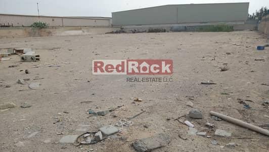 ارض تجارية  للايجار في القوز، دبي - Only @AED 14/Sqf Main Road facing OpenLand in Al Quoz