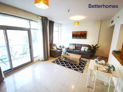 1 Bedroom Apartment for Rent in Dubai Marina, Dubai - Fully Furnished | Marina View | Chiller Free