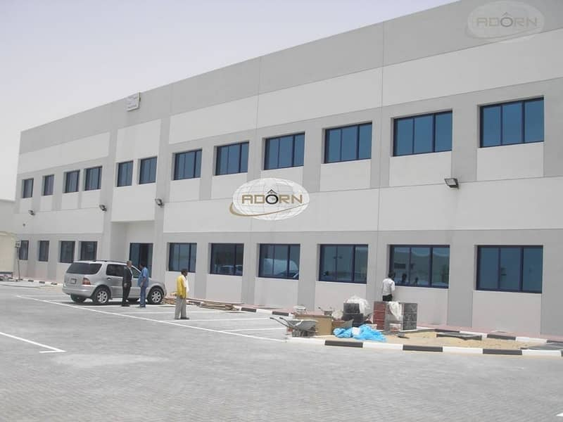 2 commercial warehouse 30071 sq ft Power 220 kw for sale