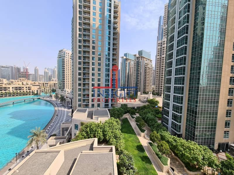 2 VERY BRIGHT | 1 BED  | WITH FOUNTAIN VIEW