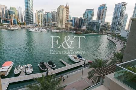 2 Bedroom Apartment for Sale in Dubai Marina, Dubai - Fully Upgraded   Full Marina View   Furnished