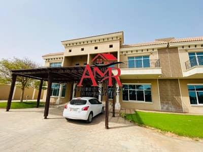 5 Bedroom Villa for Rent in Al Towayya, Al Ain - Compound Duplex Villa With Gym & Pool | Back Yard
