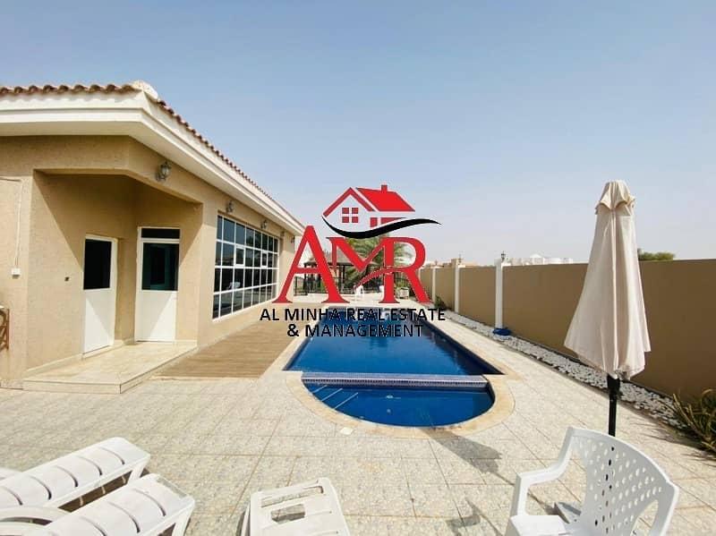 2 Compound Duplex Villa With Gym & Pool | Back Yard