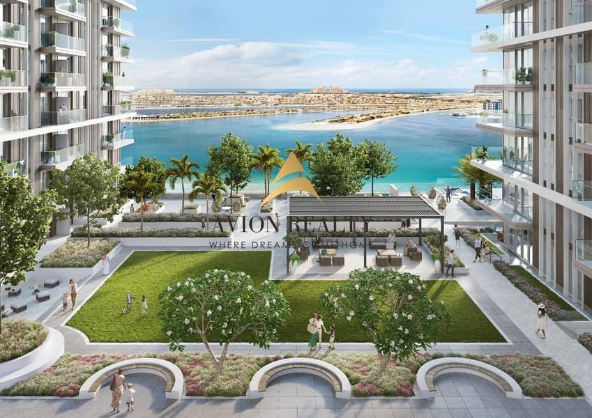 22 Private Beach | Stunning 1BR | Beach front -  Dubai Marina