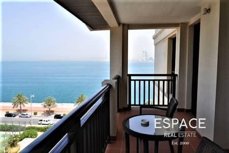 شقة 2 غرفة نوم للايجار في نخلة جميرا، دبي - 2 Bedrooms Fully Furnished Sea Views