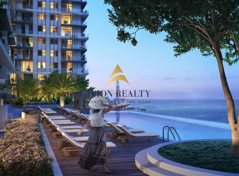 Private Beach |Lavish 1BR | Beach front -  Dubai Marina