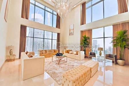 4 Bedroom Penthouse for Rent in Downtown Dubai, Dubai - Luxury Duplex Penthouse | Panoramic Burj View