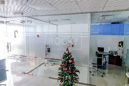 Office for Sale in Dubai Silicon Oasis, Dubai - Fitted | Glass Partitioned | Office | Good ROI%
