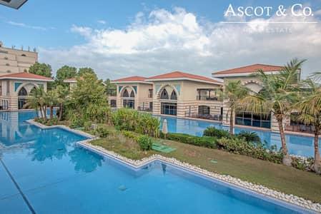 فیلا 5 غرف نوم للبيع في نخلة جميرا، دبي - Exclusive | Furnished Royal Lagoon Villa