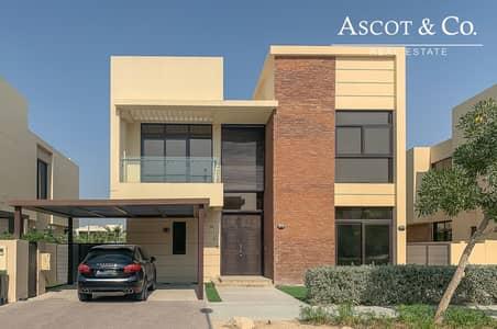 فیلا 5 غرف نوم للبيع في داماك هيلز (أكويا من داماك)، دبي - Single Row V-4 5bd+Maid Standalone Villa