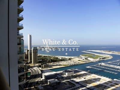 شقة 1 غرفة نوم للايجار في دبي مارينا، دبي - Lovely landlord Furnished Full sea view
