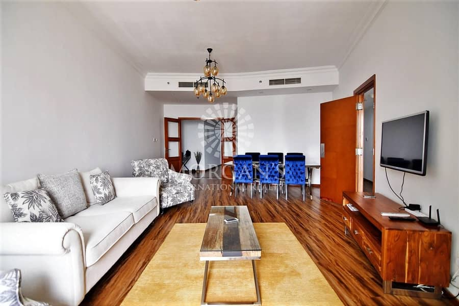 2 High Floor Upgraded Fully Furnished 2 BR