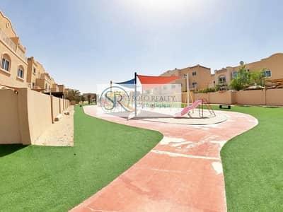 3 Bedroom Villa for Rent in Al Reef, Abu Dhabi - Mediterranean I Elite 3BR I Private Parking I Backyard I All Facilities