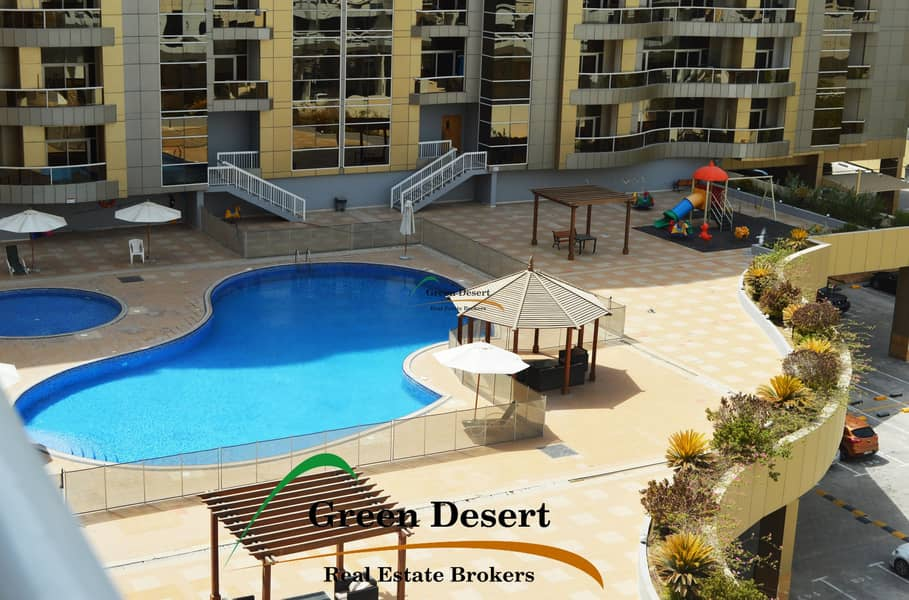 10 Spacious 1 BHK Axis 1 Pool view
